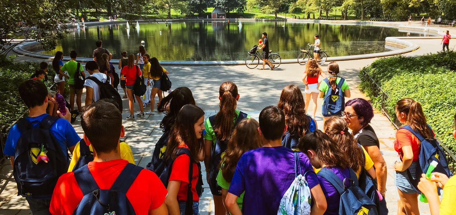 Alumnas de inmersión en Connecticut